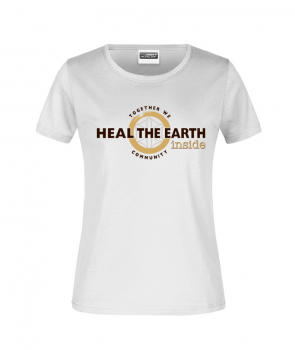 Heal the Earth Inside - T-Shirt Damen klassisch (JN789)