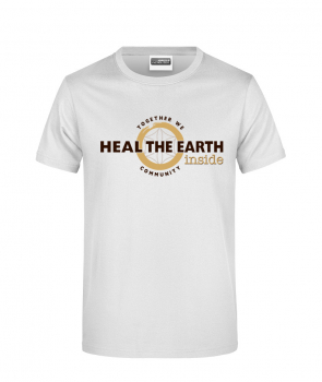 Heal the Earth Inside - T-Shirt Herren klassisch (JN790)